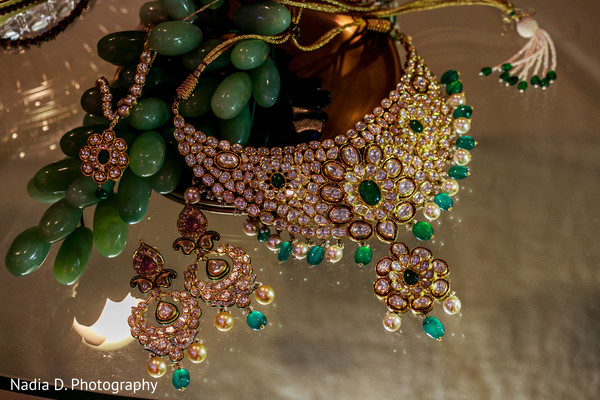 Bridal Jewelry in Long Island, NY Sikh Wedding by Nadia D. Photography
