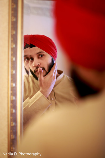 Getting Ready in Long Island, NY Sikh Wedding by Nadia D. Photography