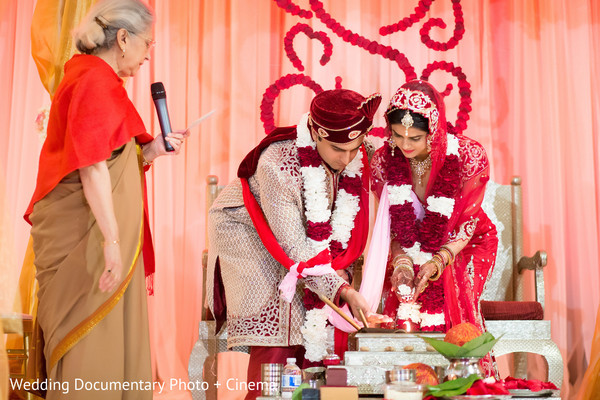 Ceremony in San Jose, CA Indian Wedding by Wedding Documentary Photo + Cinema