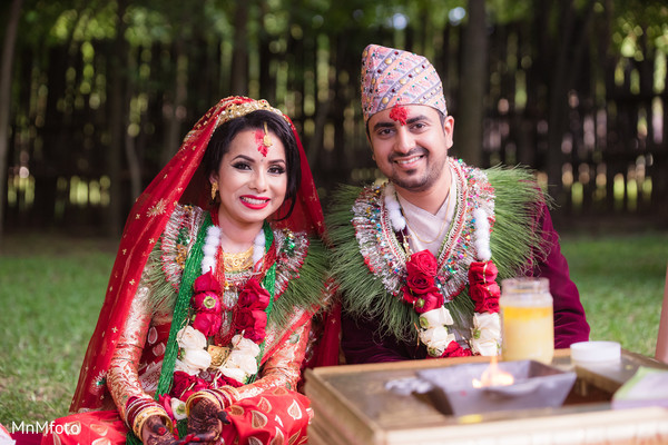 Mansfield tx indian wedding by mnmfoto maharani weddings for Wedding dress nepali culture