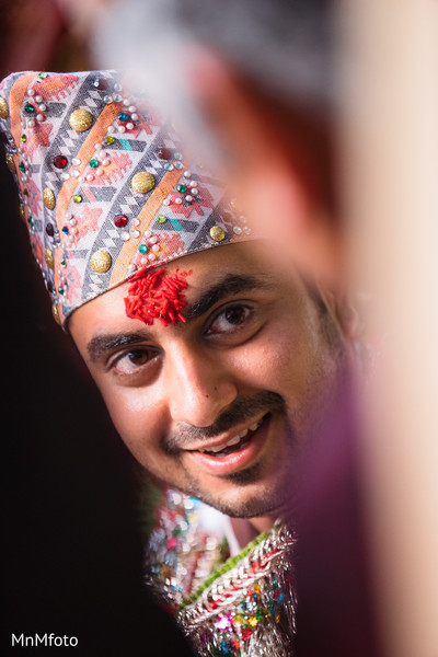 Ceremony in Mansfield, TX Indian Wedding by MnMfoto