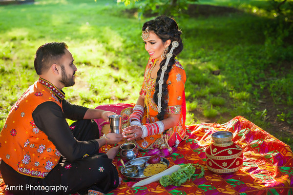 Portraits in Carteret, NJ Sikh Wedding by Amrit Photography