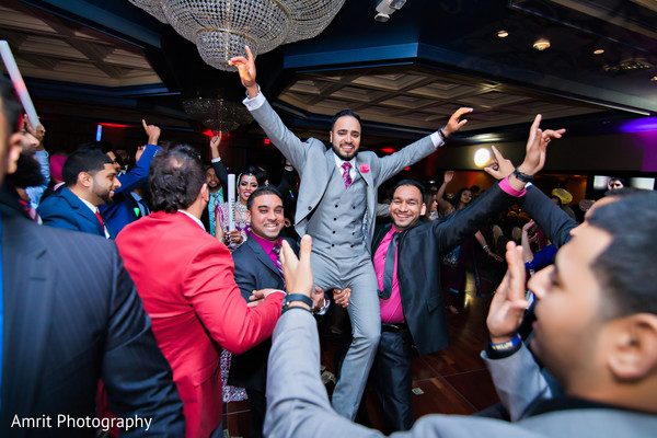 Reception in Carteret, NJ Sikh Wedding by Amrit Photography