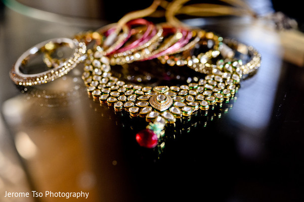 Getting Ready in Mercer Island, WA Indian Wedding by Jerome Tso Photography