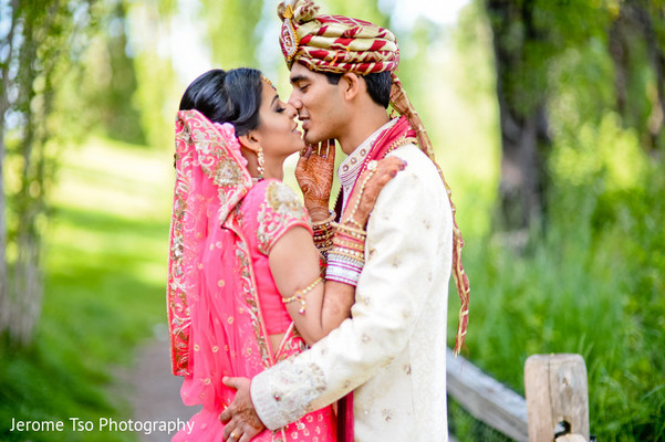 Portraits in Mercer Island, WA Indian Wedding by Jerome Tso Photography