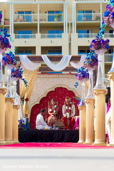 indian wedding ceremony,outdoor indian wedding decor,indian wedding mandap