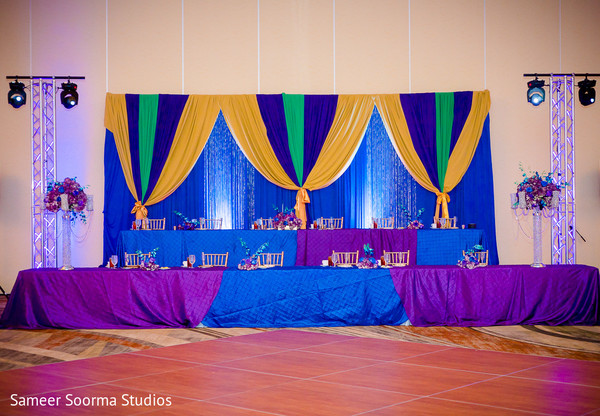 Reception in Phoenix, AZ Indian Wedding by Sameer Soorma Studios