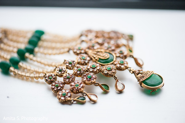 Bridal Jewelry in Orlando, FL Pakistani Wedding by Amita S. Photography
