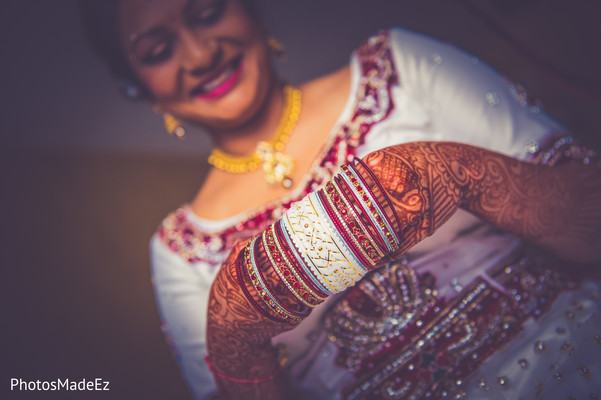 Getting Ready in Dover, DE Indian Wedding by PhotosMadeEz