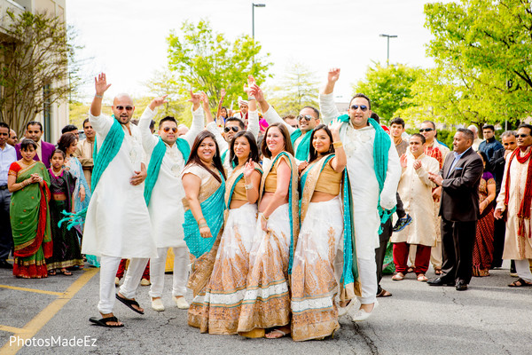 Baraat in Dover, DE Indian Wedding by PhotosMadeEz