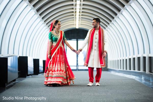 indian wedding first look,indian wedding first look portraits