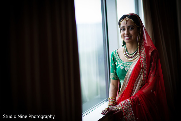 Getting Ready in Mahwah, NJ Indian Wedding by Studio Nine Photography