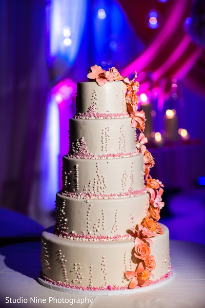 Cakes & Treats in Mahwah, NJ Indian Wedding by Studio Nine Photography