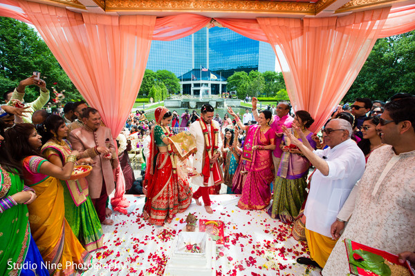 Ceremony in Mahwah, NJ Indian Wedding by Studio Nine Photography