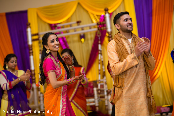 Sangeet in Mahwah, NJ Indian Wedding by Studio Nine Photography