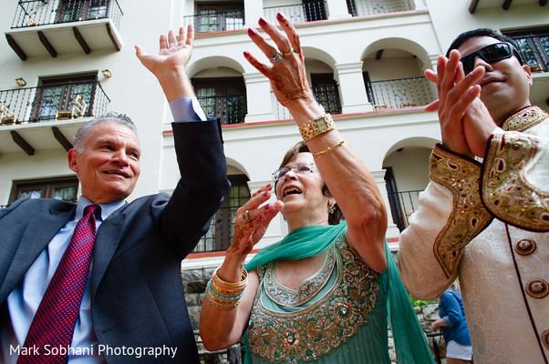 Baraat in San Antonio, TX Indian Fusion Wedding by Mark Sobhani Photography