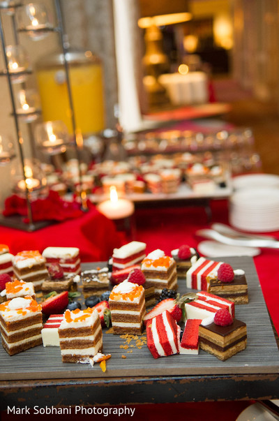 Desserts in San Antonio, TX Indian Fusion Wedding by Mark Sobhani Photography