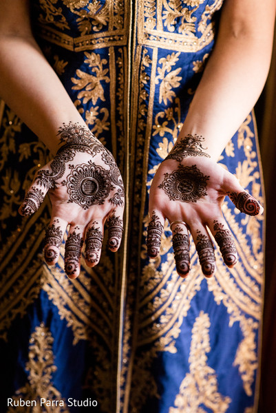 Mehndi in Coral Gables, FL Indian Fusion Wedding by Ruben Parra Studio