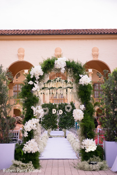 Floral & Decor in Coral Gables, FL Indian Fusion Wedding by Ruben Parra Studio