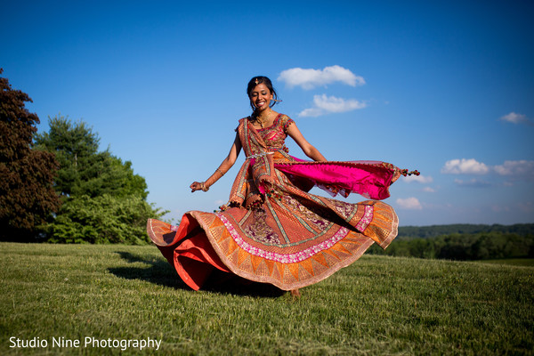 Portraits in Princeton, NJ Indian Wedding by Studio Nine Photography
