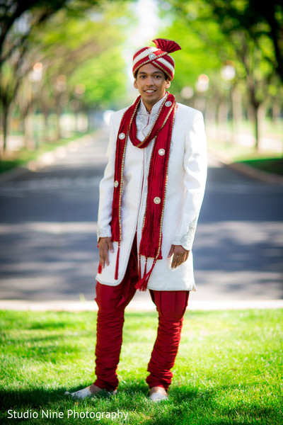 indian wedding portraits,indian groom sherwani