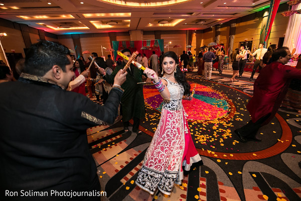 Garba in Philadelphia, PA Indian Wedding by Ron Soliman Photojournalism
