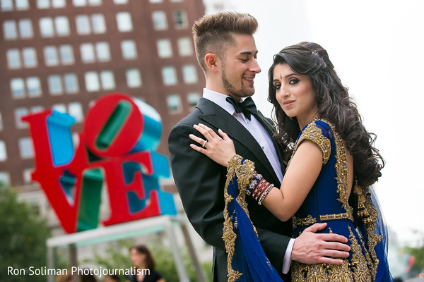 Portraits in Philadelphia, PA Indian Wedding by Ron Soliman Photojournalism