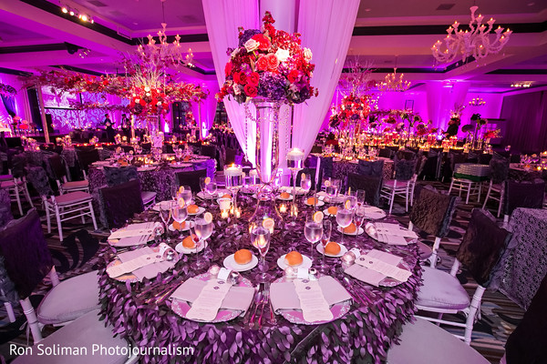 Reception in Philadelphia, PA Indian Wedding by Ron Soliman Photojournalism