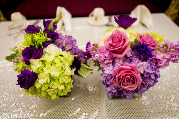 Floral & Decor in Claremont, CA Indian Fusion Wedding by Worden Photography