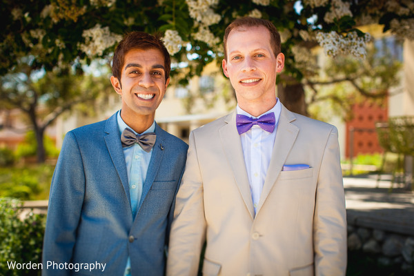 Wedding Portrait in Claremont, CA Indian Fusion Wedding by Worden Photography