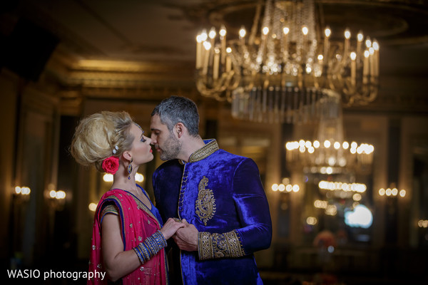 Bridal Style Shoot in Indian Fusion Bridal Shoot by WASIO Photography