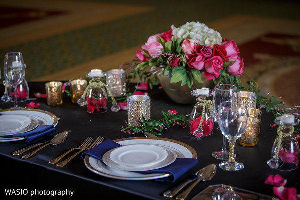 Styled Shoot in Indian Fusion Bridal Shoot by WASIO Photography