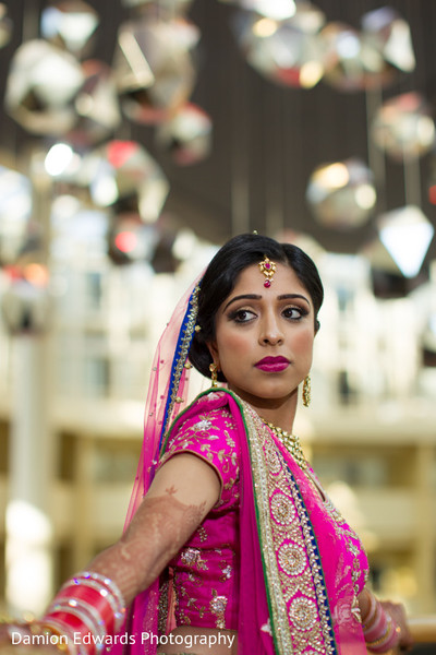 Getting Ready in Princeton, NJ Indian Wedding by Damion Edwards Photography