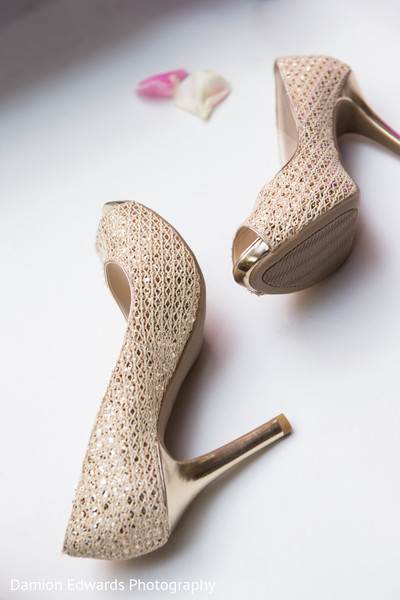 Shoes in Princeton, NJ Indian Wedding by Damion Edwards Photography