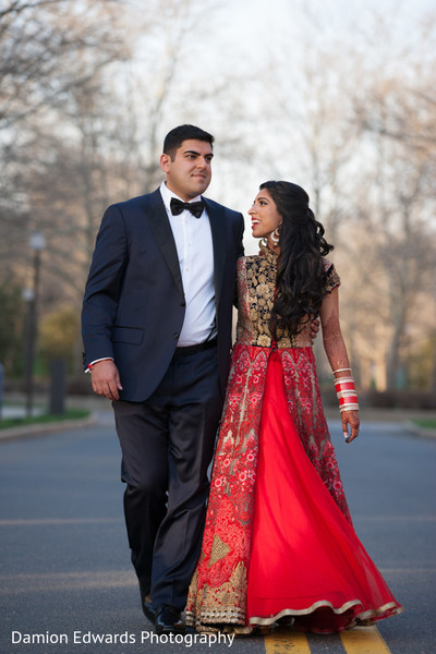 indian wedding portraits,indian bridal hair and makeup,indian fusion wedding reception