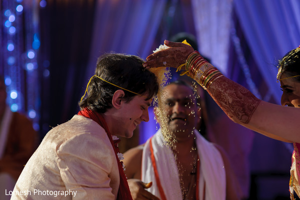 Ceremony in Dallas, TX Indian Fusion Wedding by Lomesh Photography