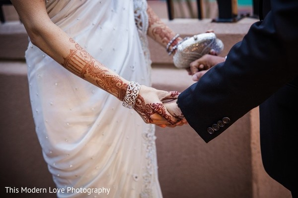First Look in Atlanta, GA South Asian Wedding by This Modern Love Photography