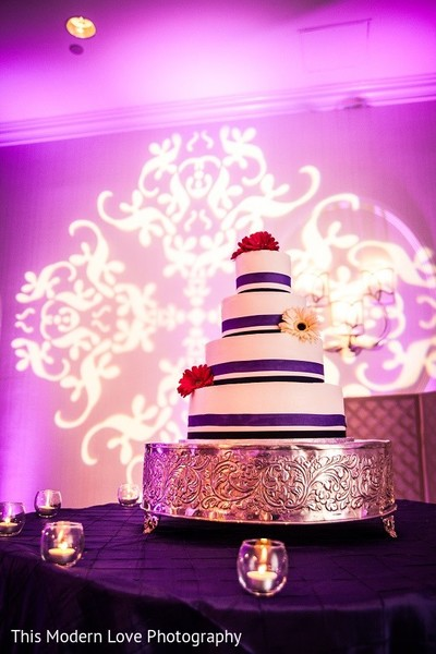 Wedding Cake in Atlanta, GA South Asian Wedding by This Modern Love Photography