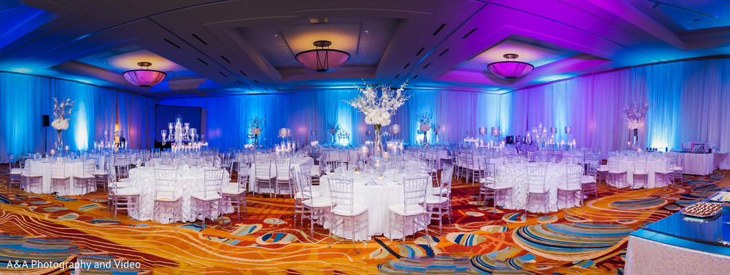 Reception in Houston, TX Indian Wedding by A&A Photography and Video