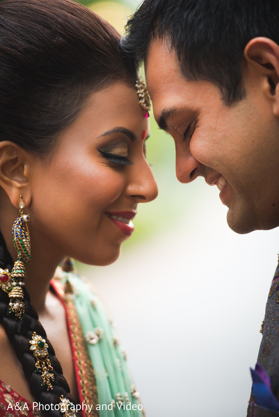 Sangeet Portraits in Houston, TX Indian Wedding by A&A Photography and Video