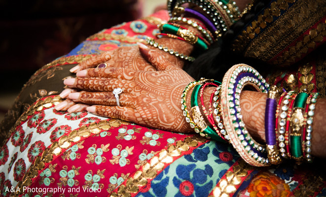 Sangeet in Houston, TX Indian Wedding by A&A Photography and Video