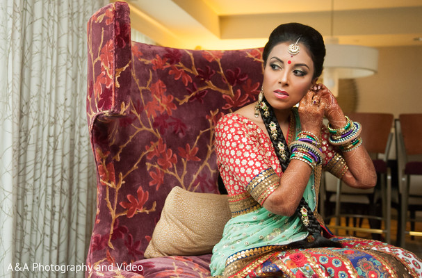 indian bride getting ready,indian pre-wedding fashion
