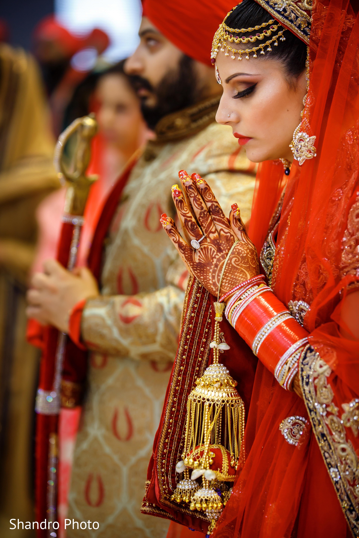Sikh Ceremony In Edmonton AB Canada Wedding By Shandro Photo