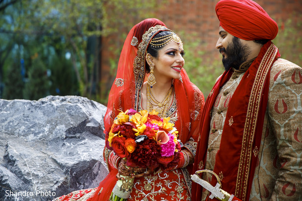 Portraits in Edmonton, AB , Canada Sikh Wedding by Shandro Photo