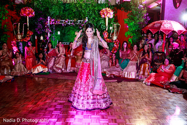 Sangeet in Long Island, NY Sikh Wedding by Nadia D. Photography