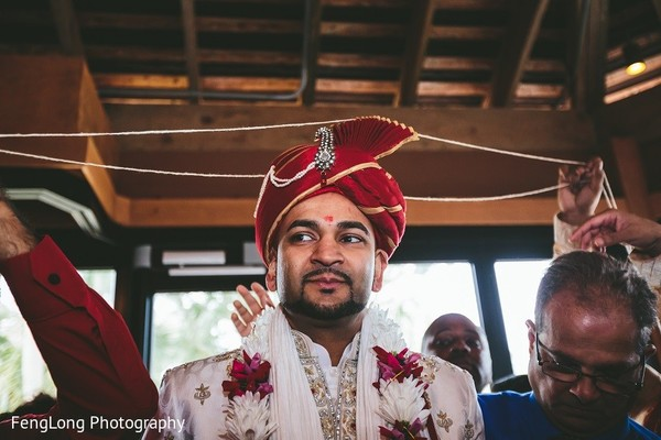Milni in Hilton Head Island, SC Indian Wedding by FengLong Photography