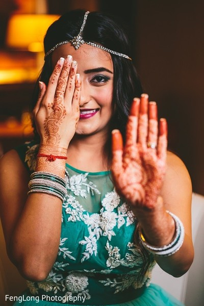 Mehndi in Hilton Head Island, SC Indian Wedding by FengLong Photography