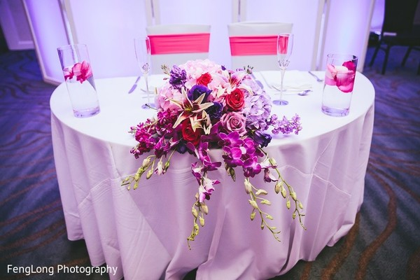 Floral & Decor in Hilton Head Island, SC Indian Wedding by FengLong Photography