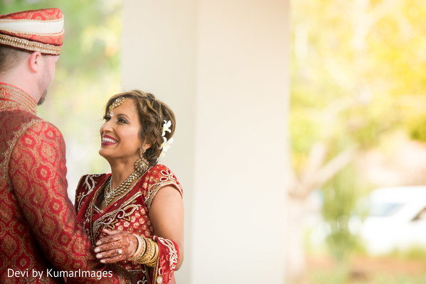 First Look in Costa Rica Indian Fusion Destination Wedding by Devi by KumarImages