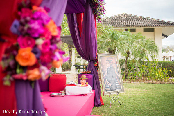 Floral & Decor in Costa Rica Indian Fusion Destination Wedding by Devi by KumarImages